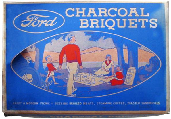 Ford Charcoal Briquet Box 2