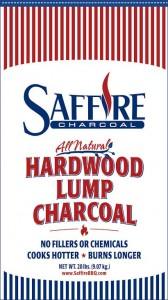 Saffire 100% All Natural Lump Charcoal Bag - Front