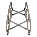 Saffire 202 Stainless Steel Silver Cart