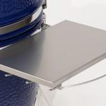 Stainless Steel Side Shelf Kit on a Saffire