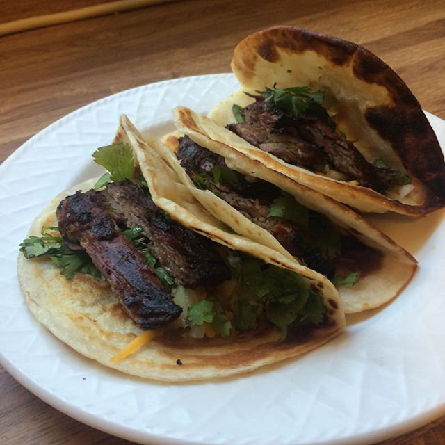 Some Super Saffire Steak Tacos