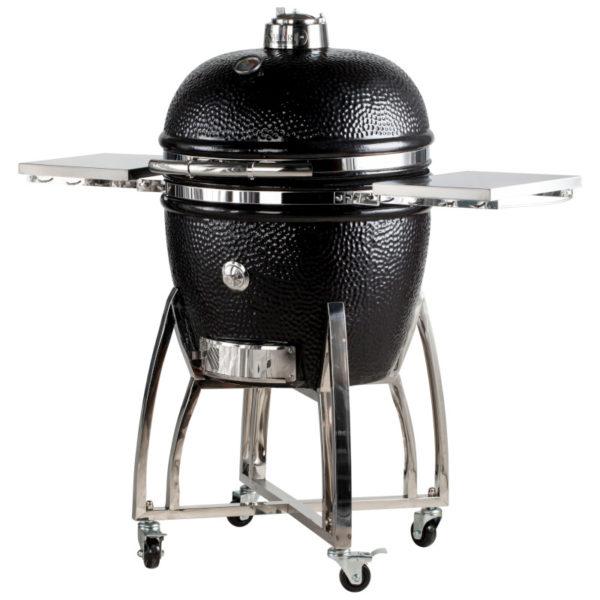 Saffire 23 Inch Platinum Kamado Grill -- Onyx Black