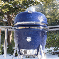 Saffire Kamado Grill – 3 Cookers in One!