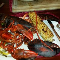 The Finest Grilled Lobster Saffire Kamado BBQ Grill Style