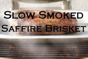 kamado smoked brisket