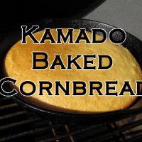 Kamado Baked Cornbread