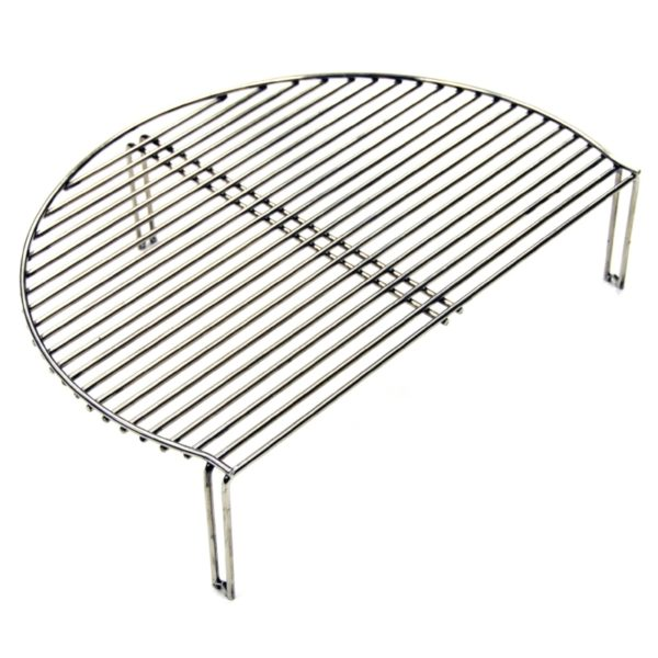 An additional cooking grid which sits on top of the primary cooking grid, with plenty of room to cook in between