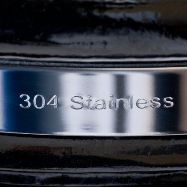 A 304 stainless-steel grill band