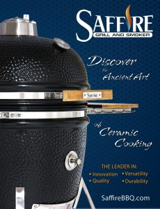 Saffire Kamado Grill – Discover the Ancient Art of Kamado Cooking