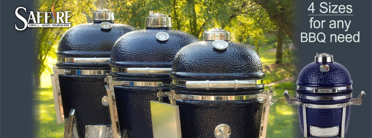 Saffire Lineup: 4 Sizes for any Barbecue Need