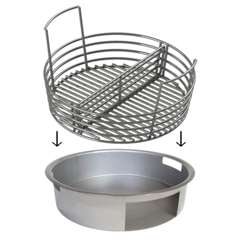Ash Pan and Charcoal Basket